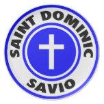 Santo Dominic Savio Plato De Comida