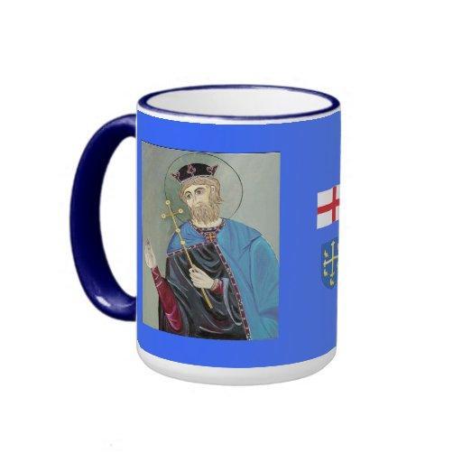 SANTO EDWARD la taza de Cinfessor