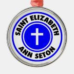 Santo Elizabeth Ana Seton Adornos