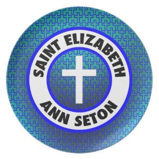 Santo Elizabeth Ana Seton Plato