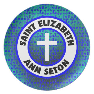 Santo Elizabeth Ana Seton Platos De Comidas