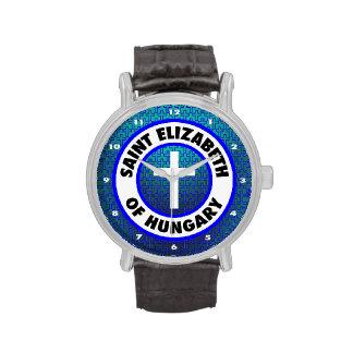 Santo Elizabeth de Hungría Relojes De Pulsera