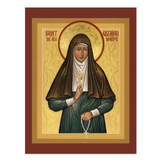 Santo Elizabeth la nueva tarjeta del rezo de Martr Tarjetas Postales