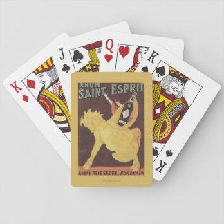 Santo Esprit de Rhum - promo de Andre Teissedre Cartas De Póquer