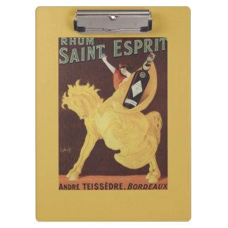 Santo Esprit de Rhum - promo de Andre Teissedre