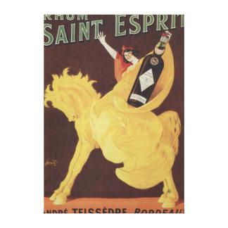 Santo Esprit de Rhum - promo de Andre Teissedre Impresión En Lona
