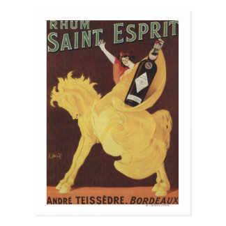 Santo Esprit de Rhum - promo de Andre Teissedre Tarjetas Postales
