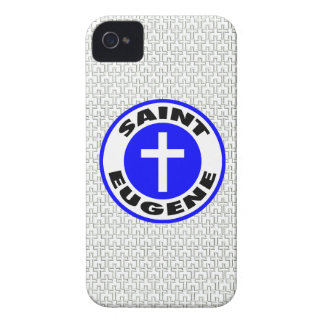 Santo Eugene iPhone 4 Protectores