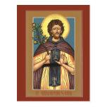 Santo Euphrosynos la tarjeta del rezo del cocinero Postales