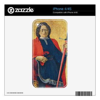 Santo Florian, italiano, C. 1473-74 Calcomanías Para El iPhone 4S