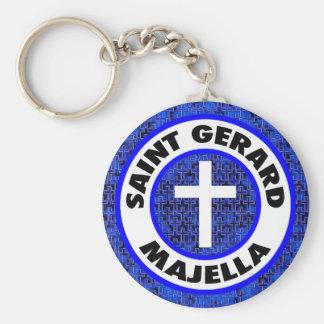 Santo Gerard Majella Llavero Redondo Tipo Pin