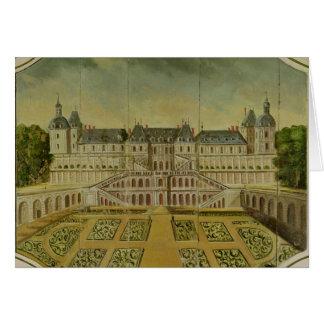 Santo-Germán-en-Laye del castillo francés Tarjeta De Felicitación