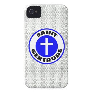 Santo Gertrudis iPhone 4 Case-Mate Cárcasas