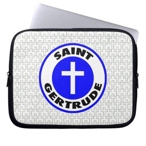 Santo Gertrudis Funda Computadora