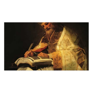 Santo Gregory de Francisco Goya- Tarjetas De Visita
