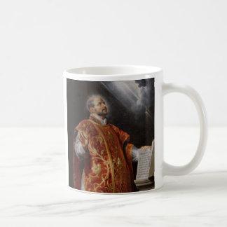 Santo Ignatius de la taza de Loyola