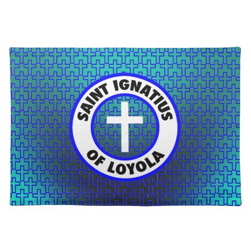 Santo Ignatius de Loyola Manteles Individuales