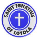 Santo Ignatius de Loyola Platos De Comidas