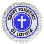 Santo Ignatius de Loyola Platos Para Fiestas