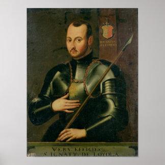 Santo Ignatius de Loyola Póster