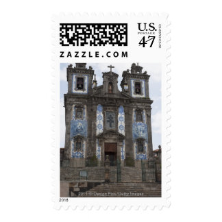 Santo Ildenfonso Church With Tile Panels Postage
