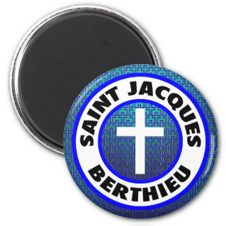 Santo Jacques Berthieu Imán Redondo 5 Cm