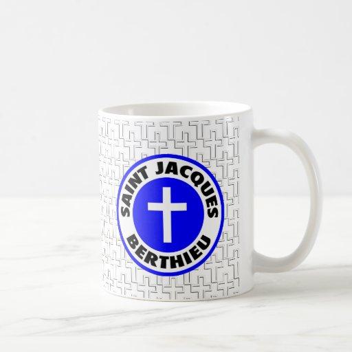 Santo Jacques Berthieu Taza Básica Blanca
