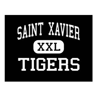 Santo Javier - tigres - alto - Louisville Kentucky Postales