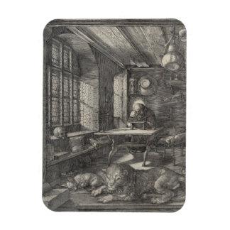 Santo Jerome en su estudio de Albrecht Durer Iman Flexible