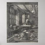 Santo Jerome en su estudio de Albrecht Durer Impresiones