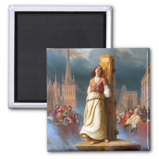 Santo Juana de Arco Imanes Para Frigoríficos