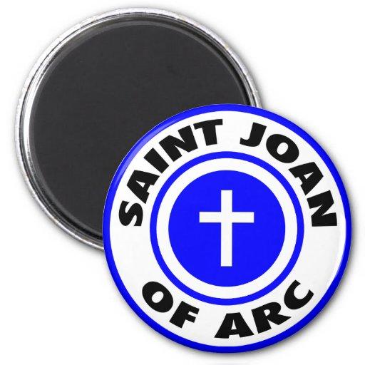 Santo Juana de Arco Imán Para Frigorifico
