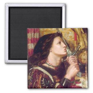 Santo Juana de Arco Imán Cuadrado