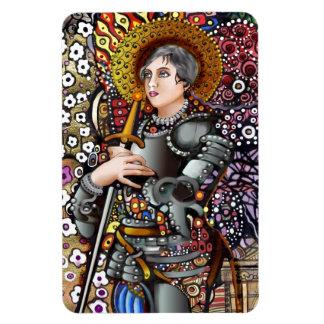 Santo Juana de Arco Iman Flexible