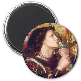 Santo Juana de Arco Imán Redondo 5 Cm