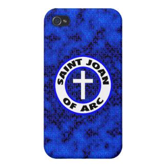 Santo Juana de Arco iPhone 4/4S Carcasas