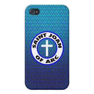 Santo Juana de Arco iPhone 4/4S Fundas