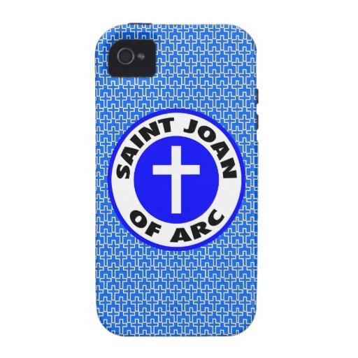 Santo Juana de Arco iPhone 4 Fundas