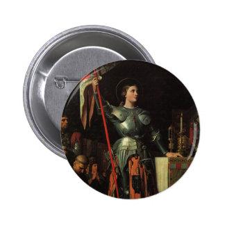 Santo Juana de Arco Pins