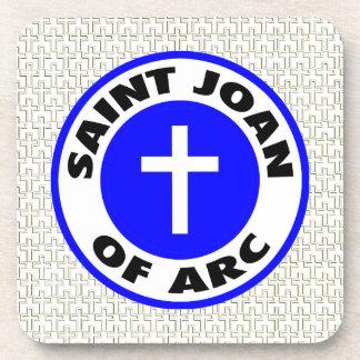 Santo Juana de Arco Posavasos De Bebidas
