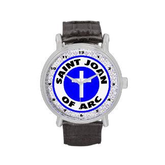 Santo Juana de Arco Relojes De Pulsera