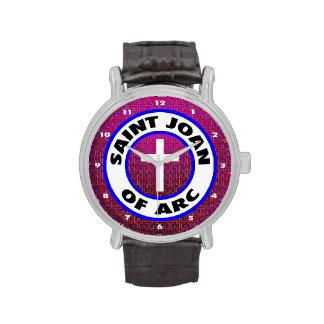 Santo Juana de Arco Relojes De Mano