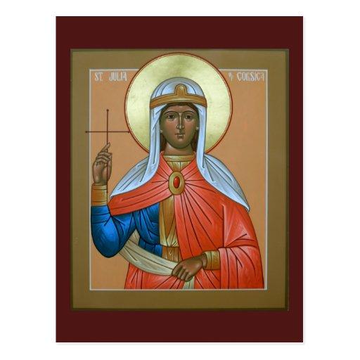 Santo Julia de Córcega Postal