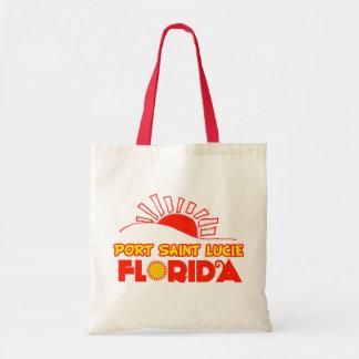 Santo Lucie, la Florida del puerto Bolsas Lienzo