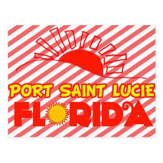 Santo Lucie, la Florida del puerto Postales