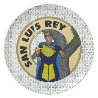 Santo Luis Rey Plato De Comida