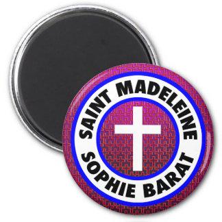 Santo Madeleine Sophie Barat Imán Redondo 5 Cm