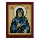 Santo Maria de la tarjeta del rezo de París Postal