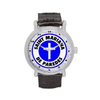 Santo Mariana De Paredes Reloj