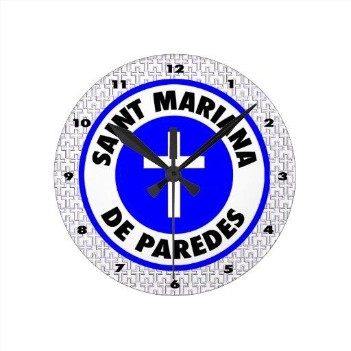 Santo Mariana De Paredes Relojes De Pared